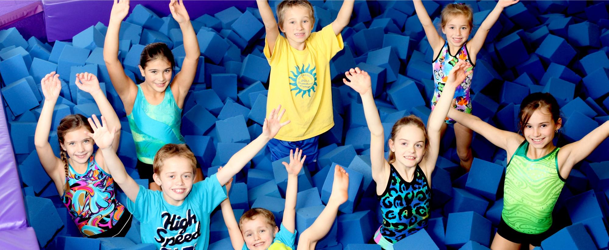 kelowna gymnastics drop-in 5 - 13 years