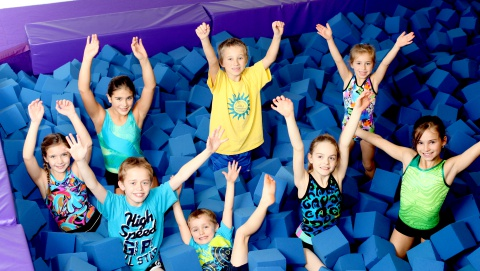 kids open play time gym dropin program