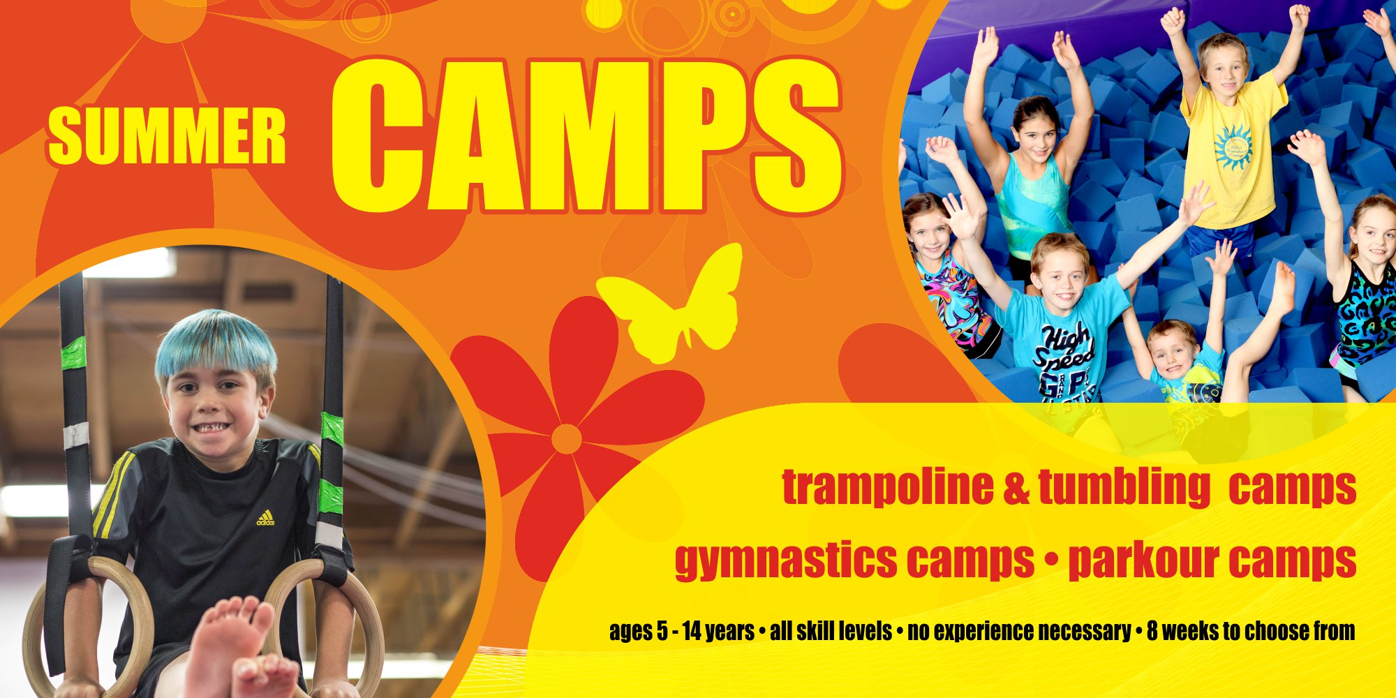 gymnastics summer camps
